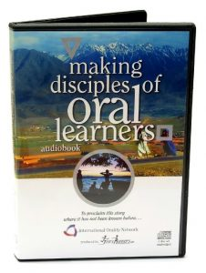 Making Disciples of Oral Learners, audiobook packaging